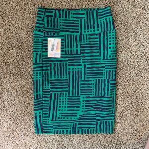 Green and purple Pencil Skirt | LuLaRoe Cassie
